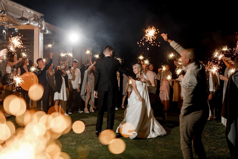 Romance and Rock&roll: свадьба в загородном гольф-клубе