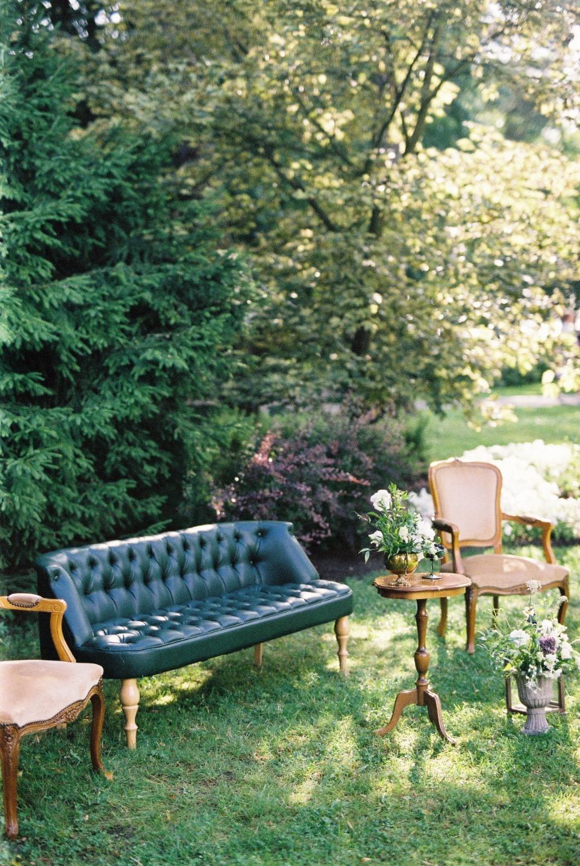Английский сад: эко-свадьба в загородном клубе