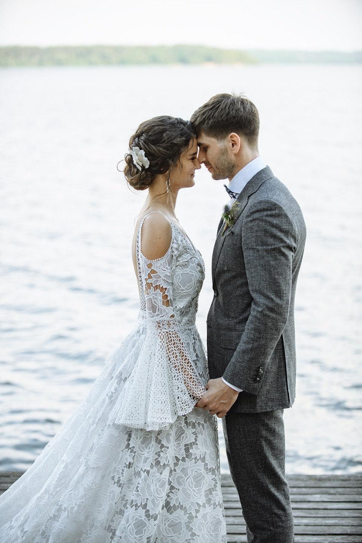 Свадьба в средиземноморском стиле в загородном отеле