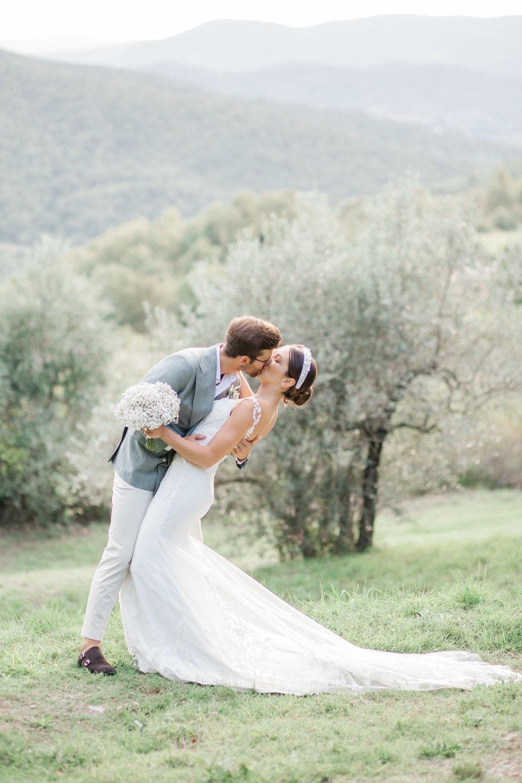 Любовь в Тоскане: романтическая свадьба на вилле
