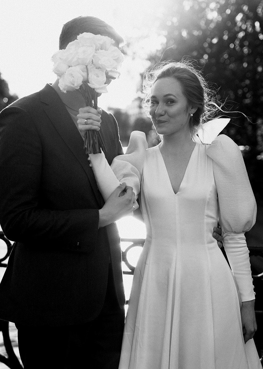 «Modern Classic»: лаконичная свадьба в ресторане