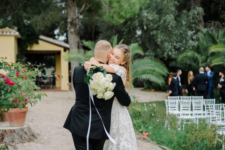 Интернациональная эко-свадьба в Испании