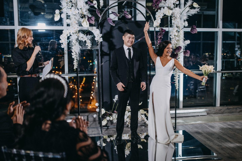 Black & White: минималистичная свадьба