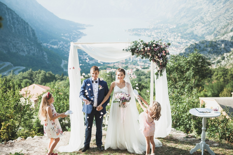 Солнечная свадьба в Черногории