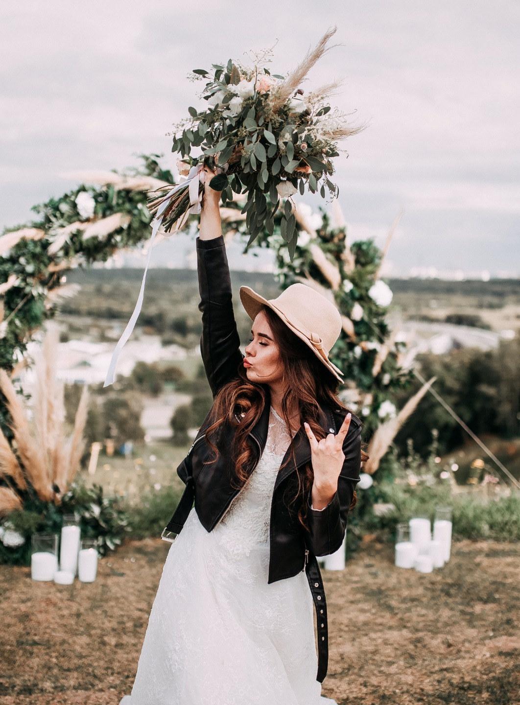 Свадьба в европейском стиле на природе