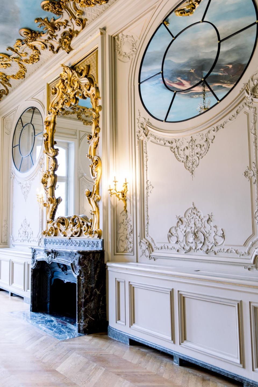 Романтическая свадьба в французском отеле-дворце