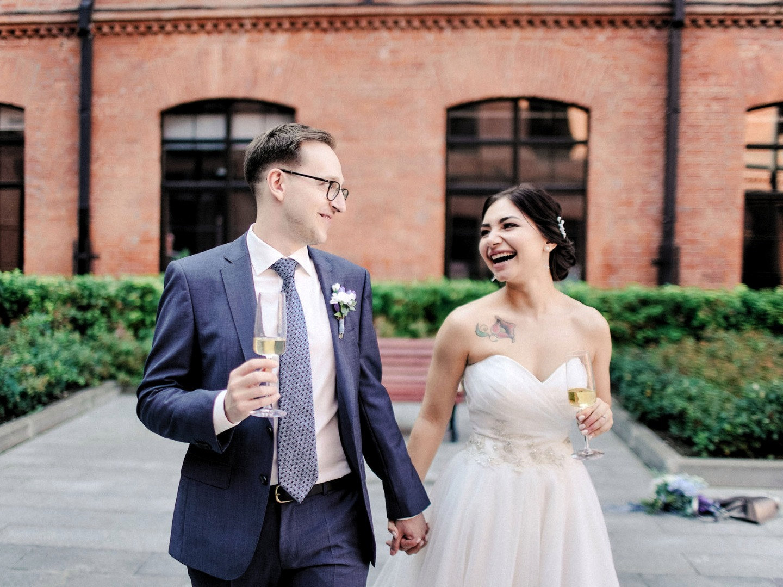 Романтическая свадьба в фиолетовых оттенках