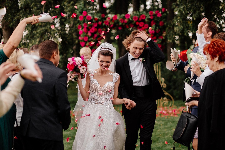 «Таинственный сад»: яркая свадьба в усадьбе
