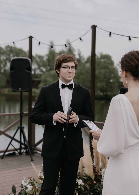 Fusion style: современная свадьба в светлых оттенках