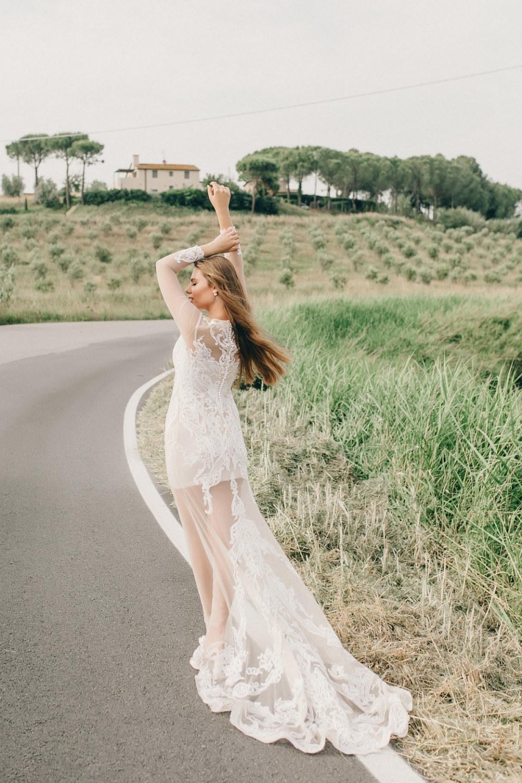 Историческая Тоскана: камерная семейная свадьба