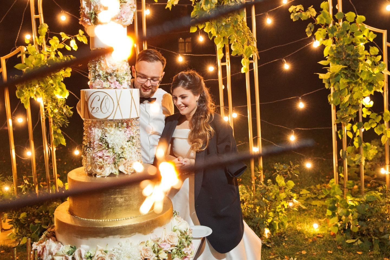 Роскошная интернациональная свадьба во дворце