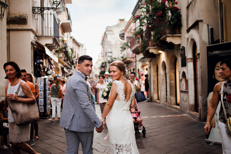 Традиционный сицилийский стиль: свадьба в Италии