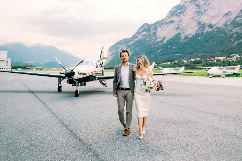 Любовь в Австрии: нежная свадьба на озере