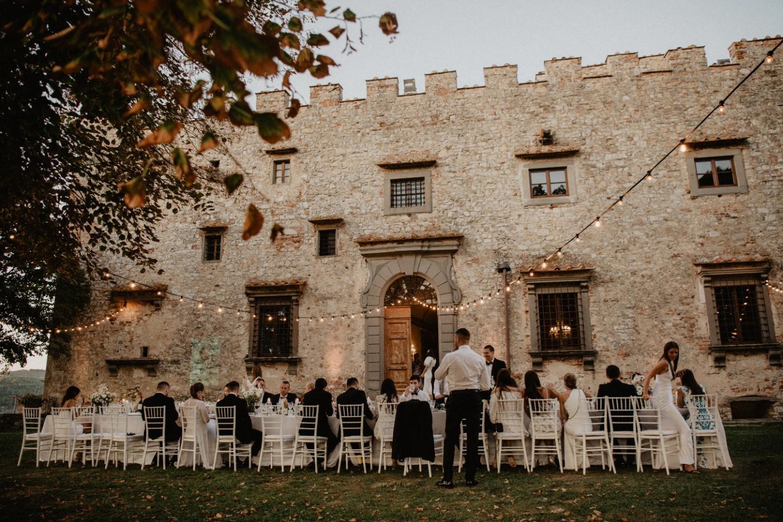 Sweet Tuscany: эко-свадьба в итальянском замке
