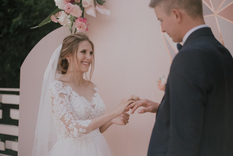 Нежная свадьба в Сокольниках