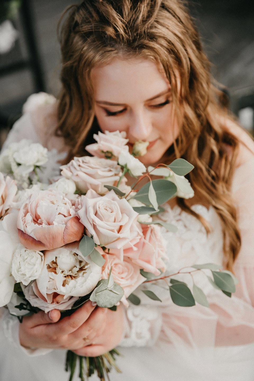 Душевная летняя свадьба для самых близких