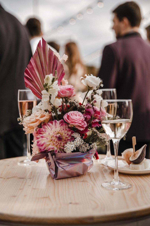 Яркая современная свадьба-вечеринка
