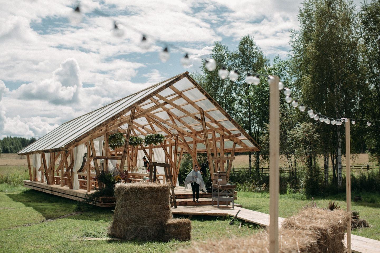 Эко & бохо: свадьба на эко-ферме