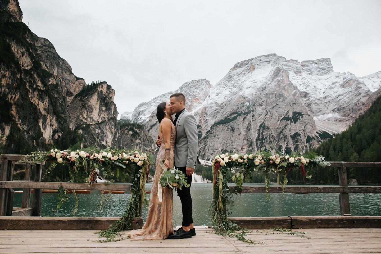 Европейское путешествие: свадьба в Италии на озере