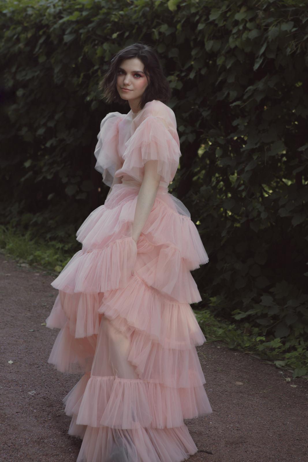 Pink love: необычная стилизованная фотосессия
