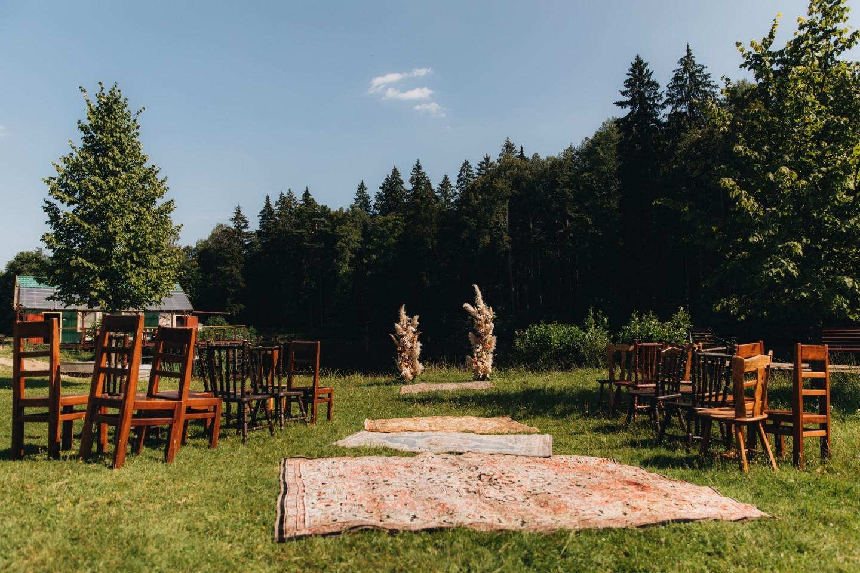 Cолнечный день: рустик-свадьба на природе