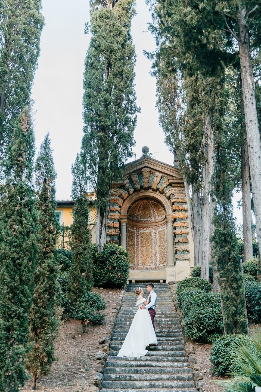 Итальянская мечта: свадьба на вилле ХV века Salviatino