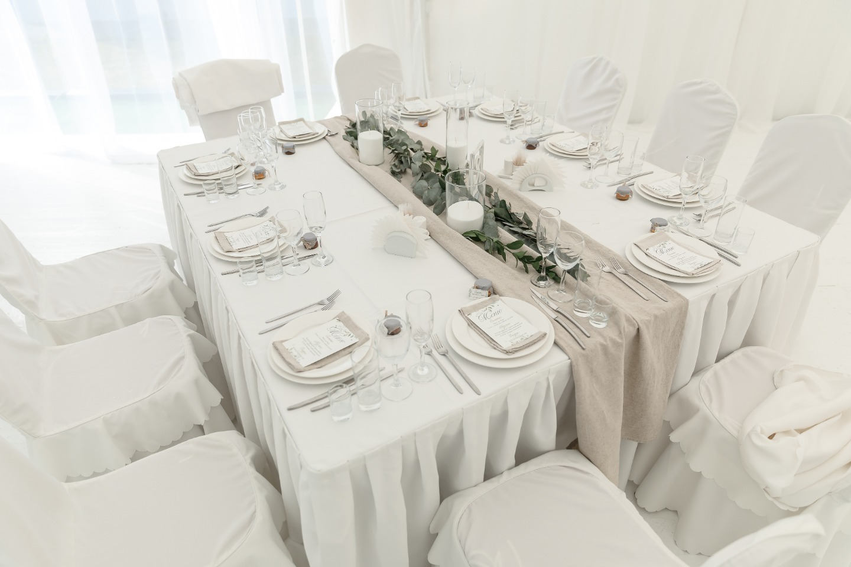Семейная атмосфера: свадьба в загородном клубе