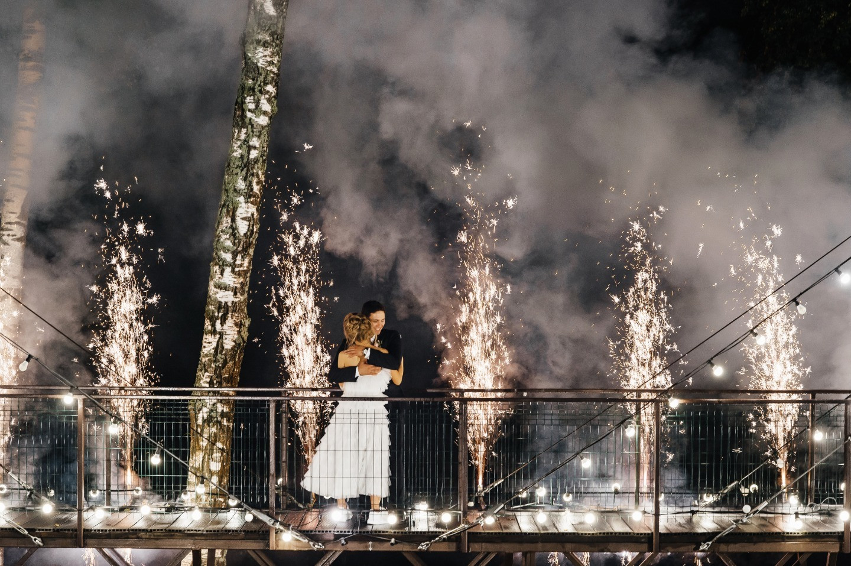Сон наяву: романтическая свадьба за городом
