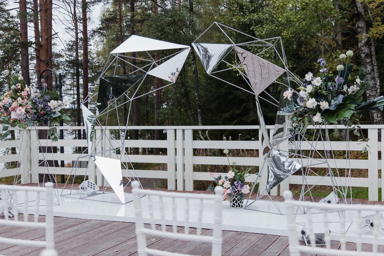 Вселенная для двоих: яркая тематическая свадьба