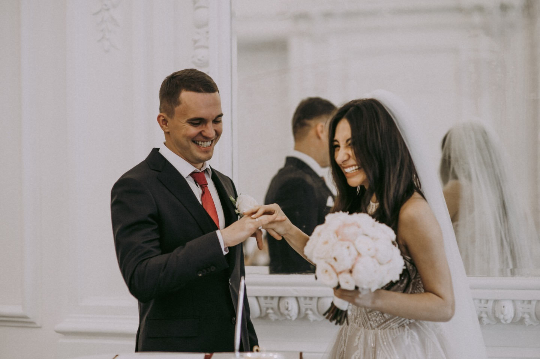 Наш лучший день: романтическая свадьба в нежных оттенках
