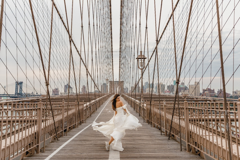 Black & White: стилизованная фотосессия в сердце Нью-Йорка