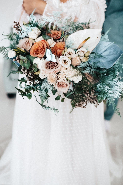 «Зимние ивы»: свадьба в ледяных оттенках