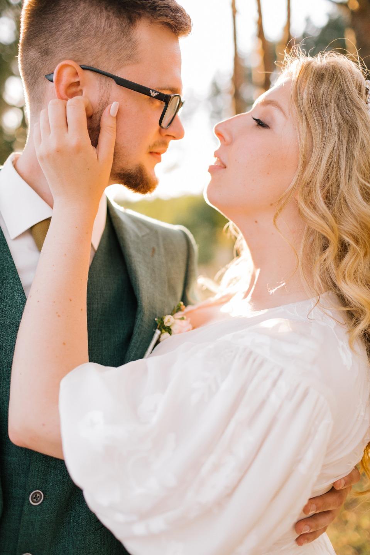 First love: романтическая свадьба за городом