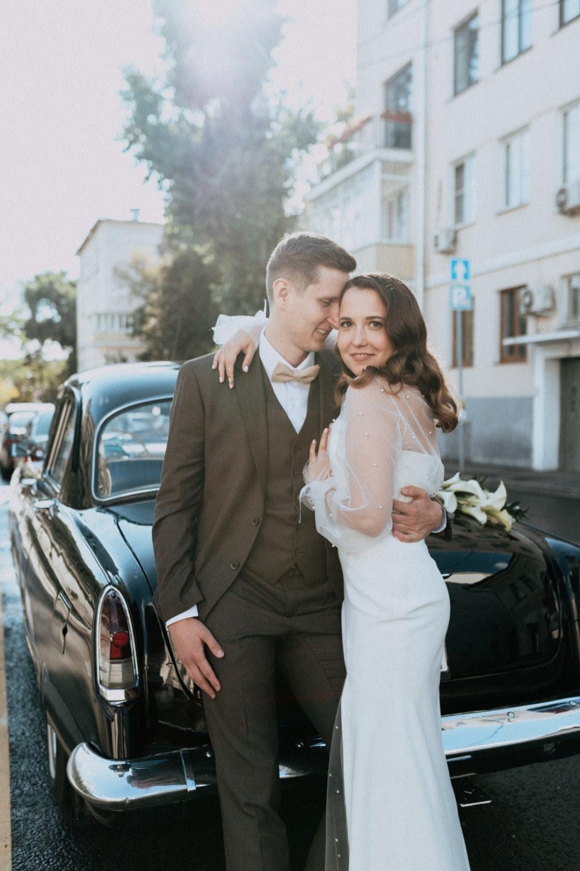 Retro minimalism: свадьба в усадьбе Roden