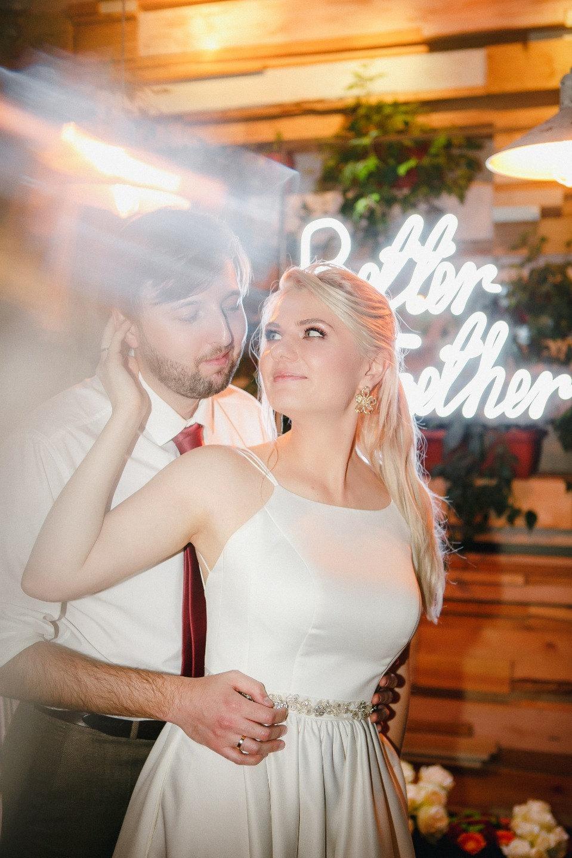Без рамок: яркая свадьба в кругу самых близких