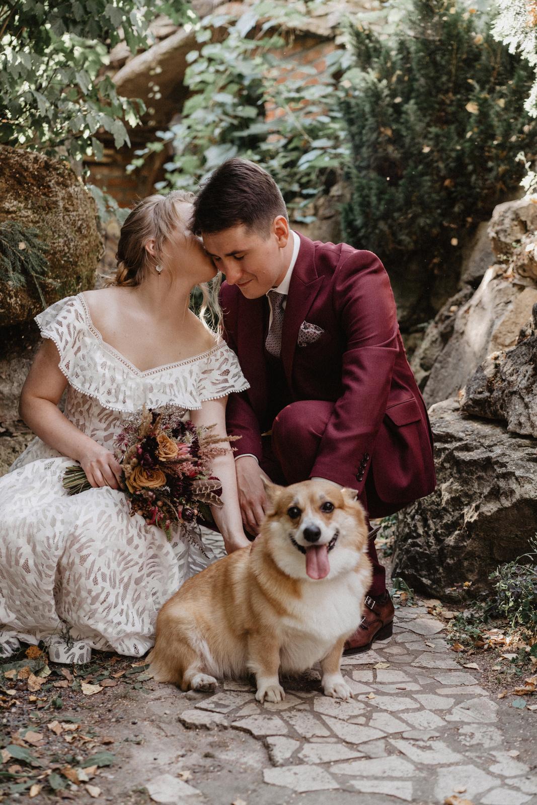 Яркая бохо-свадьба за городом
