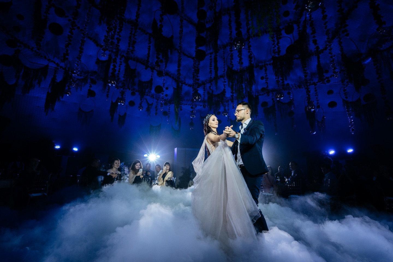 Флорентийская лилия: свадьба в фиолетовых оттенках