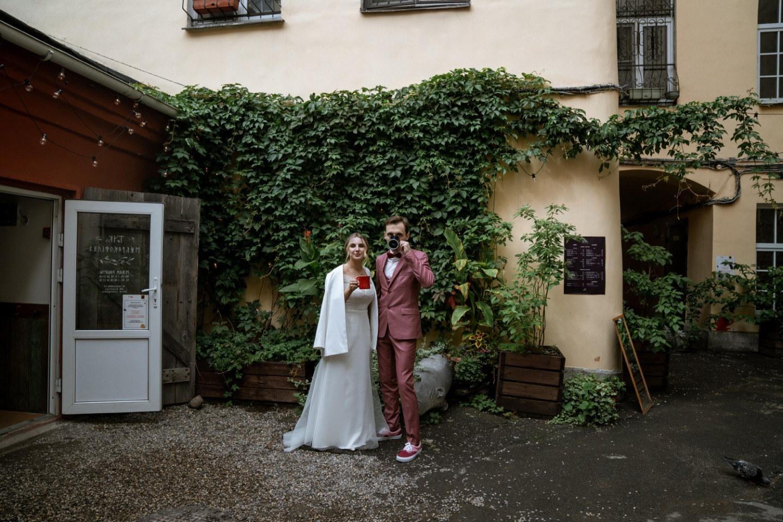 Дух Италии: романтическая свадьба в ресторане