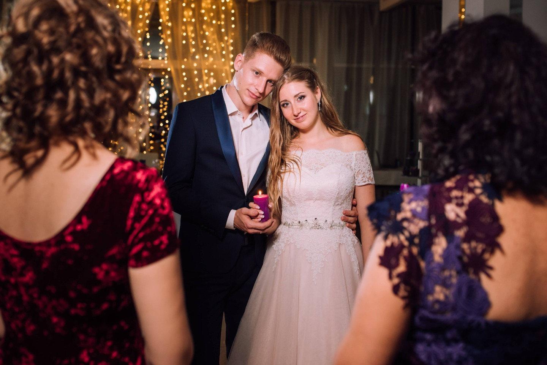 Романтическая свадьба в розово-фиолетовых оттенках