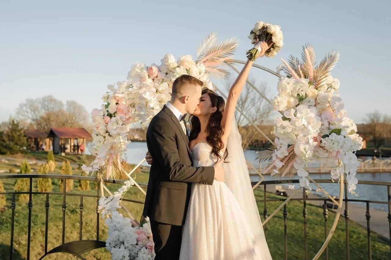 Magic of romance: осенняя свадьба в нежных оттенках