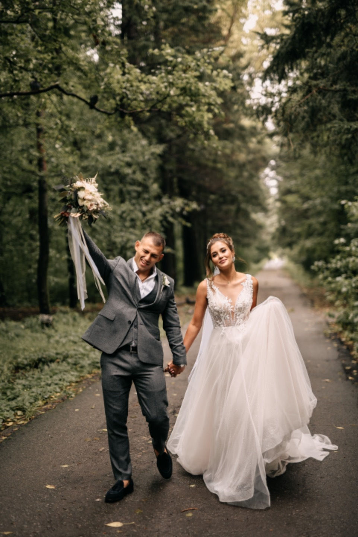 Наш уютный день: свадьба в сердце леса