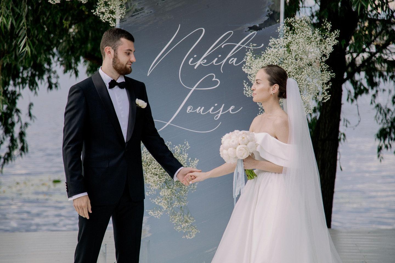 Cote d'Azur Moscow: элегантная свадьба у воды