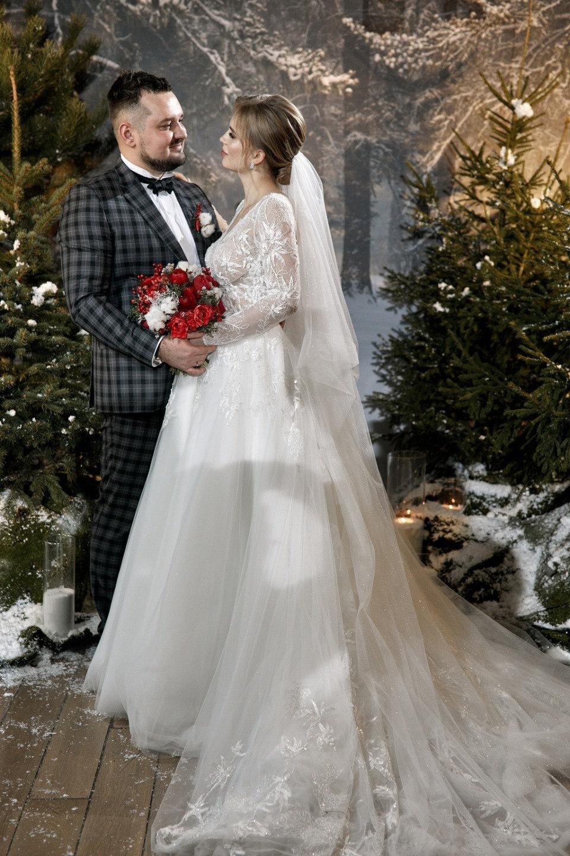 Зимняя сказка и русская Масленица: семейная свадьба