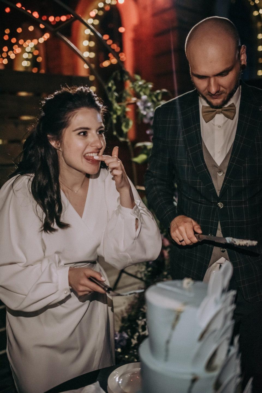Нежность: романтическая свадьба в лофте