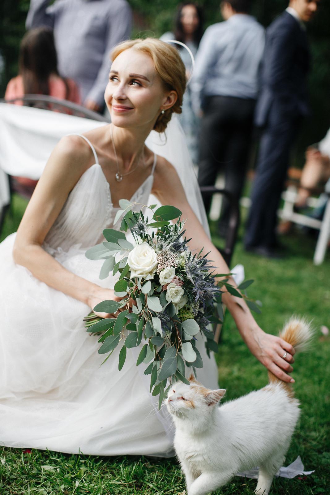 Семейный праздник: свадьба в усадьбе