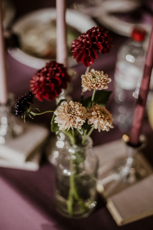 Autumn and books: свадьба с ярким акцентом за городом