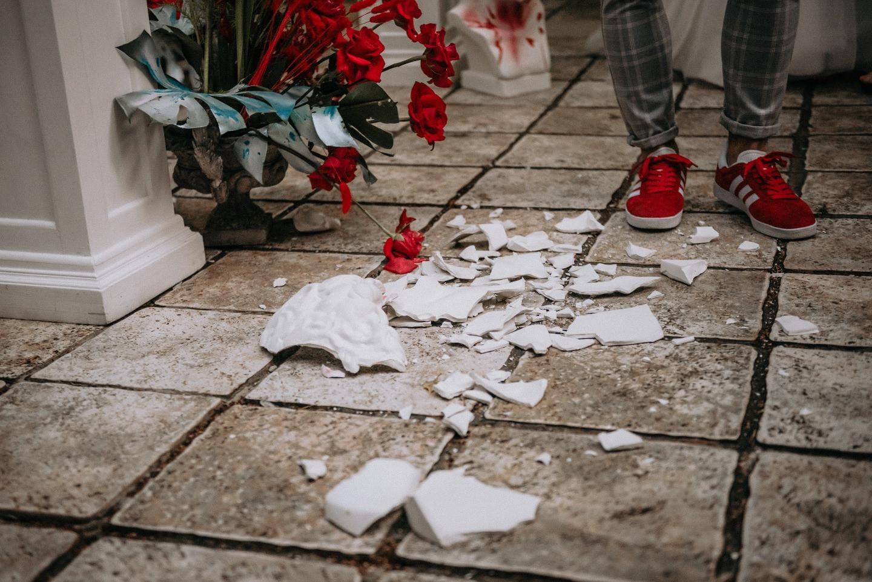 Vandalism: яркая необычная свадьба за городом