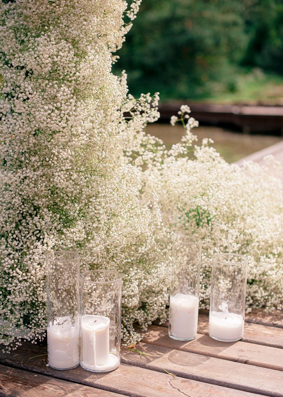Eco and rustic: свадьба у озера