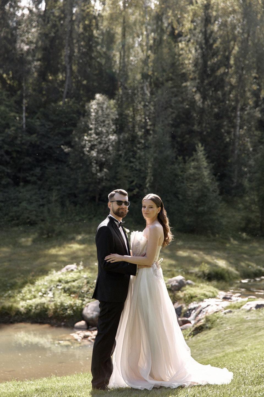 Perfomance: элегантная свадьба в гольф-клубе