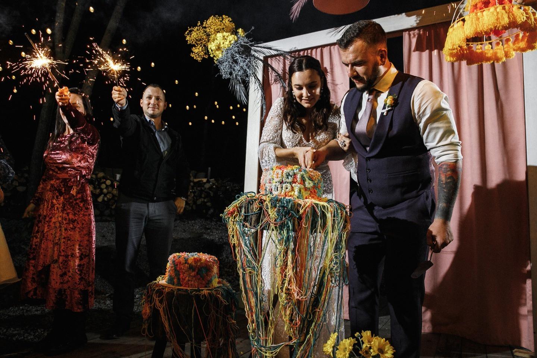 Наше яркое лето: лесная свадьба-вечеринка